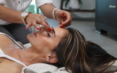 Как делать точечный массаж от насморка