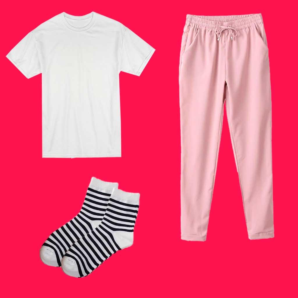 Одежда для прессотерапии. Футболка, спортивные брюки и носки